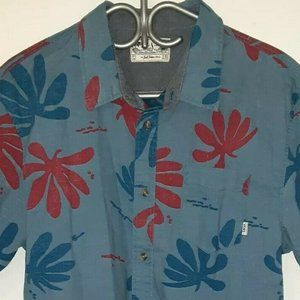 VANS Joel Tudor Collection Hawaiian Shirt Large